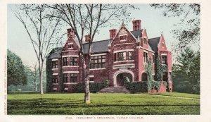 POUGHKEEPSIE, New York, 1901-1907; President's Residence, Vassar College