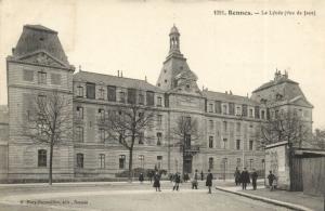 CPA Rennes - Le Lycée (112058)
