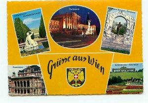 Buy Postcard grunne Wien Monuments Germany