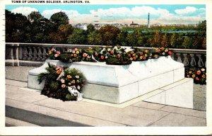 Virginia Arlington Tomb Of Unknown Soldier 1935