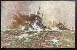 Mint Germany Picture Postcard PPC SM Lineship Kaiser Wilhelm