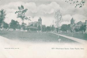 CEDAR RAPIDS, Iowa, 1901-07; Washington Square