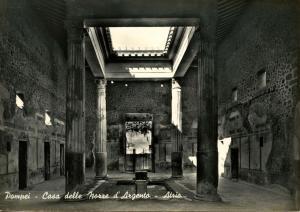 Italy - Pompei. Vestibule of Maison des Noces d'Argent   *RPPC