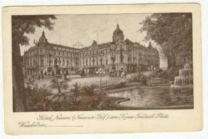 Hotel Nassau, Wiesbaden, Germany, 00-10s