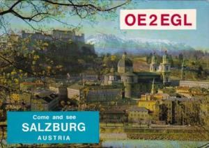 OE2EGL Come and See Austria Eugene Goffriller