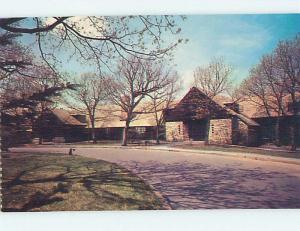 Unused Pre-1980 LODGE SCENE Shenandoah National Park Virginia VA J6571-12