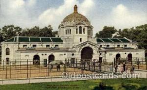 Elephant House, New York Zoological Park New York, USA Postcard Post Cards Ol...
