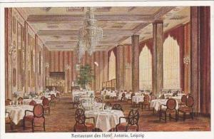 Germany Leipzig Restaurant des Hotel Astoria