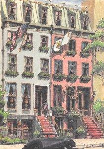 The Box Tree Hotel, 250 E. 49th St., Manhattan, N.Y.C., Postcard, Unused