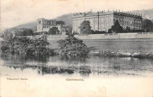 Chatsworth House River Maison Panorama 1903