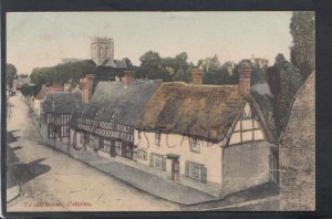 Wiltshire Postcard - Ye Olde Houses, Potterne   HP505