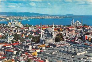 Turkey Istanbul The Magic City and It's Mosques Panoramic view