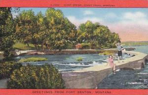 Greetings from Fort Benton, Montana, 30-40s