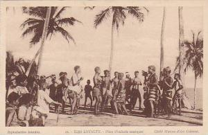 Iles Loyalty, Pilou d'Enfants Canaques, New Caledonia, 1900-1910s
