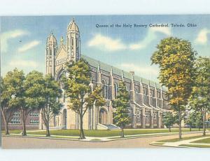 Linen CHURCH SCENE Toledo Ohio OH A9501