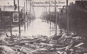 COLUMBUS, Ohio, 00-10s ; Flood Scene