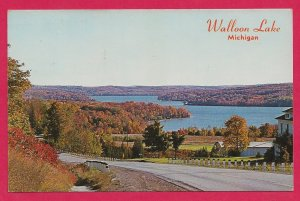 H-004 - Beautiful Walloon Lake S of Petosky, MI Contemporary Picture Postcard