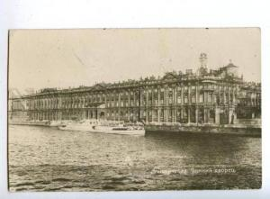 163508 Russia LENINGRAD Winter Palace Vintage photo postcard