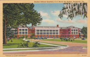 PENSACOLA , Florida, 30-40s ; Naval Air Station , Student Officers Quarters