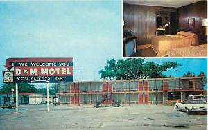 D & M Motel Highway 70 Downtown Forrest City AR Arkansas