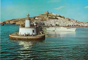 IBIZA (Baleares) , Spain , 50-70s ; Harbor LIGHTHOUSE