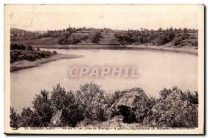 Indre - Eguzon - Lake view taken Dam - Old Postcard