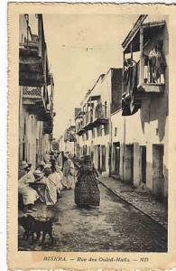Algeria - Biskra Rue des Ouled-Nails 1930 Photo