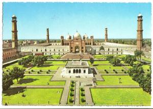 Shahi Mosque, Lahore, West Pakistan, unused Postcard