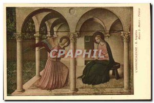 Old Postcard The annuciazone Angelico Museo Marco S Firenze