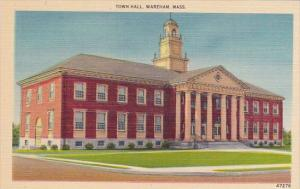 Town Hall Wareham Massachusetts