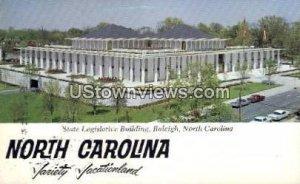 State Legislative Building in Raleigh, North Carolina