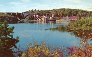 MI - Iron Mountain, Quinnesec Falls Hydro-Electric Plant