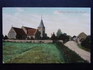 West Sussex Bognor PAGHAM CHURCH c1911 Postcard by Valentine