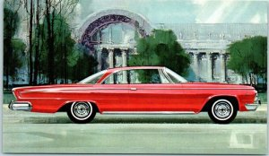 1963 DODGE CUSTOM 880 Automobile Advertising Postcard Muscle Car 2-Door Hardtop