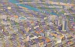 Aerial View Of Nashville Tennessee