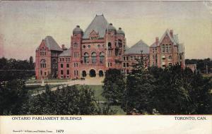 Ontario Parliament Buildings, TORONTO, Ontario, Canada, PU-1906