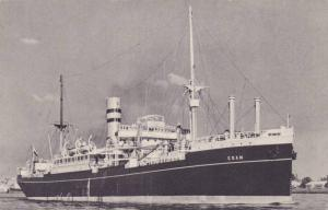Holland-America Line, Cargo Ship, S. S. Edam, 1900-1910s