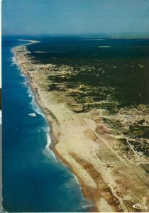 Ocean Atlantique, Montalivet-Les-Bains 1981 used Postcard
