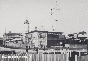 Semaphore Signal Station Port Adelaide Australian Postcard