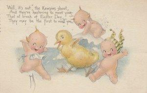 Rosie O'NEILL; EASTER ; Kewpies & a duck , 1922