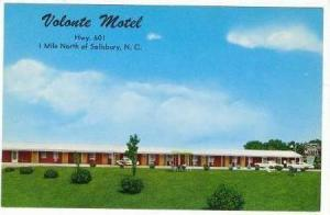 Volonte Motel, Salisbury, North Carolina, 1940-1960s
