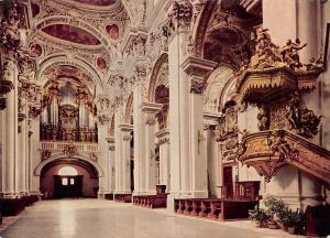 Passau an der Donau Im Dom Cathedral Interior view