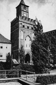Marienburg Westpreussen Das Marientor Dr Wolff Tritschler Castle Gate