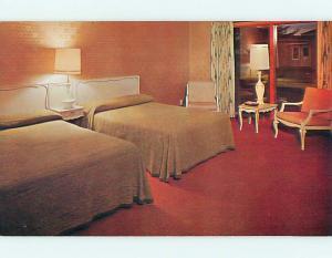 Unused Pre-1980 MERRILL VIEW MOTEL Merrill Wisconsin WI s3623