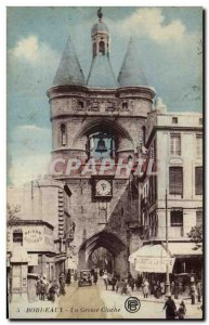 Bordeaux Old Postcard The big bell