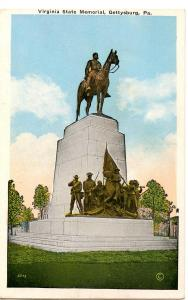 PA - Gettysburg. Virginia State Memorial