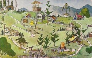 AMUSEMENT PARK, Story Land, Glen NH, White Mountains, Fairy Tales, Chrome PC