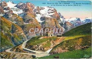 Old Postcard Savoy Picturesque Route du Col de l'Iseran Maison Forestiere and...