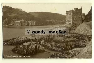 tp8191 - Devon - Kingswear Castle, Stands Proudly at the Water's Edge - Postcard