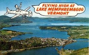 VT - Flying High at Lake Memphremagog